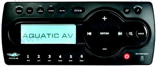 MEDIA CENTER-CD / IPHONE / IPOD / AM / FM / USB / MP