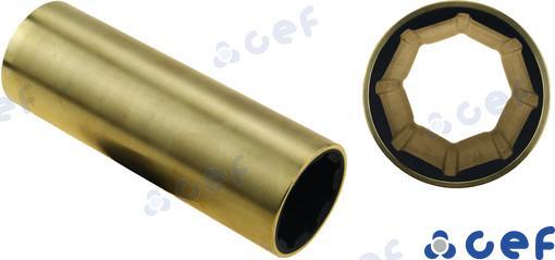 WELLENLAGER BRONZE 35X50X140 MM