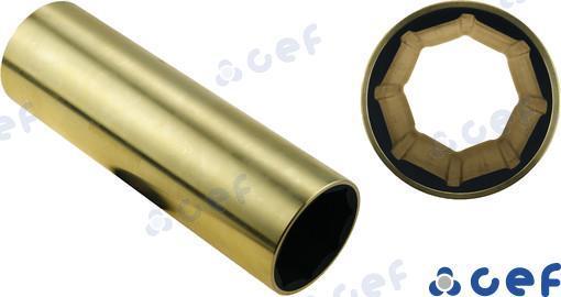 WELLENLAGER BRONZE 55X73X220 MM