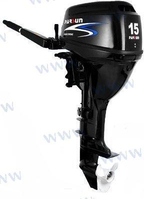 AUSSENBORD-MOTOR PARSUN 15 PS 4T - HANDSTARTER/LANGSCHAFT