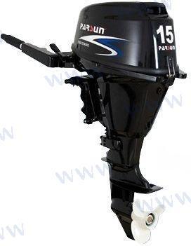 AUSSENBORD-MOTOR PARSUN 15 PS 4T - ELEKTROSTART/KURZSCHAFT
