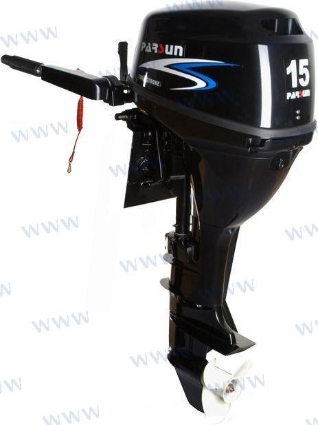 AUSSENBORD-MOTOR PARSUN 15 PS 4T - ELEKTROSTART/LANGSCHAFT MIT FERNSTEUERUNG