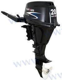 AUSSENBORD-MOTOR PARSUN 20 PS 4T - EFI - ELEKTROSTART / LANGSCHAFT UND FERNSTEUERUNG