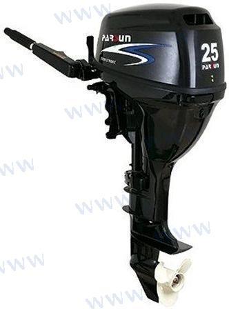 AUSSENBORD-MOTOR PARSUN 25 PS 4T - ELEKTROSTART/LANGSCHAFT