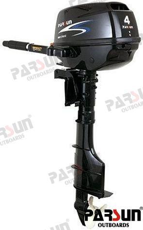 AUSSENBORD-MOTOR PARSUN 4 PS 4T - HANDSTARTER/LANGSCHAFT