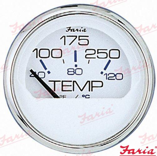 ANZEIGEINSTRUMENT WASSERTEMPERATUR 100/250°F