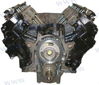 ENGINE (LONG BLOCK) GM 7.4L V8 GEN VI (REMANUFACTURED)