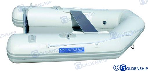 SCHLAUCHBOOT GOLDENSHIP180 AIRMATBODEN 1,8 Meter
