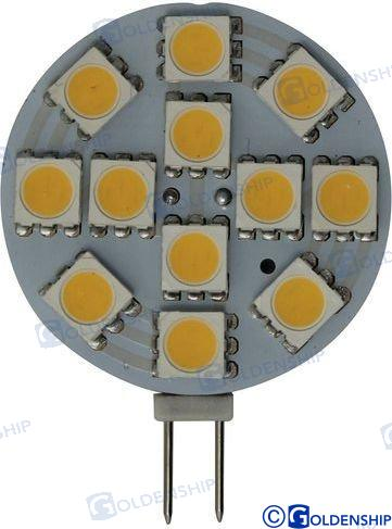 GLÜHBIRNE G4 HORIZONTAL 12 LED 2,2W 12V