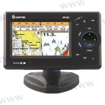 SAMYUNG NF500 GPS-PLOTTER-SONDE 5 TRAND.
